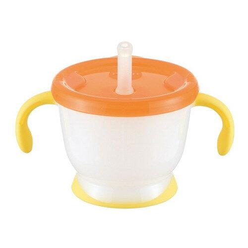 ベビーザらス限定 アクリア コップでマグ ストロータイプ 150ml(オレンジ)