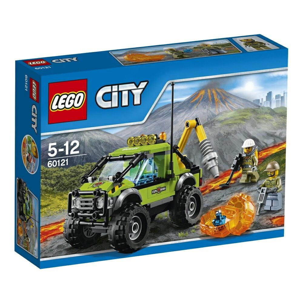 レゴ シティ 60121 火山調査トラック
