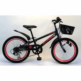 トイザらス AVIGO 20インチ 子供用自転車 カオス(ブラック/レッド)
