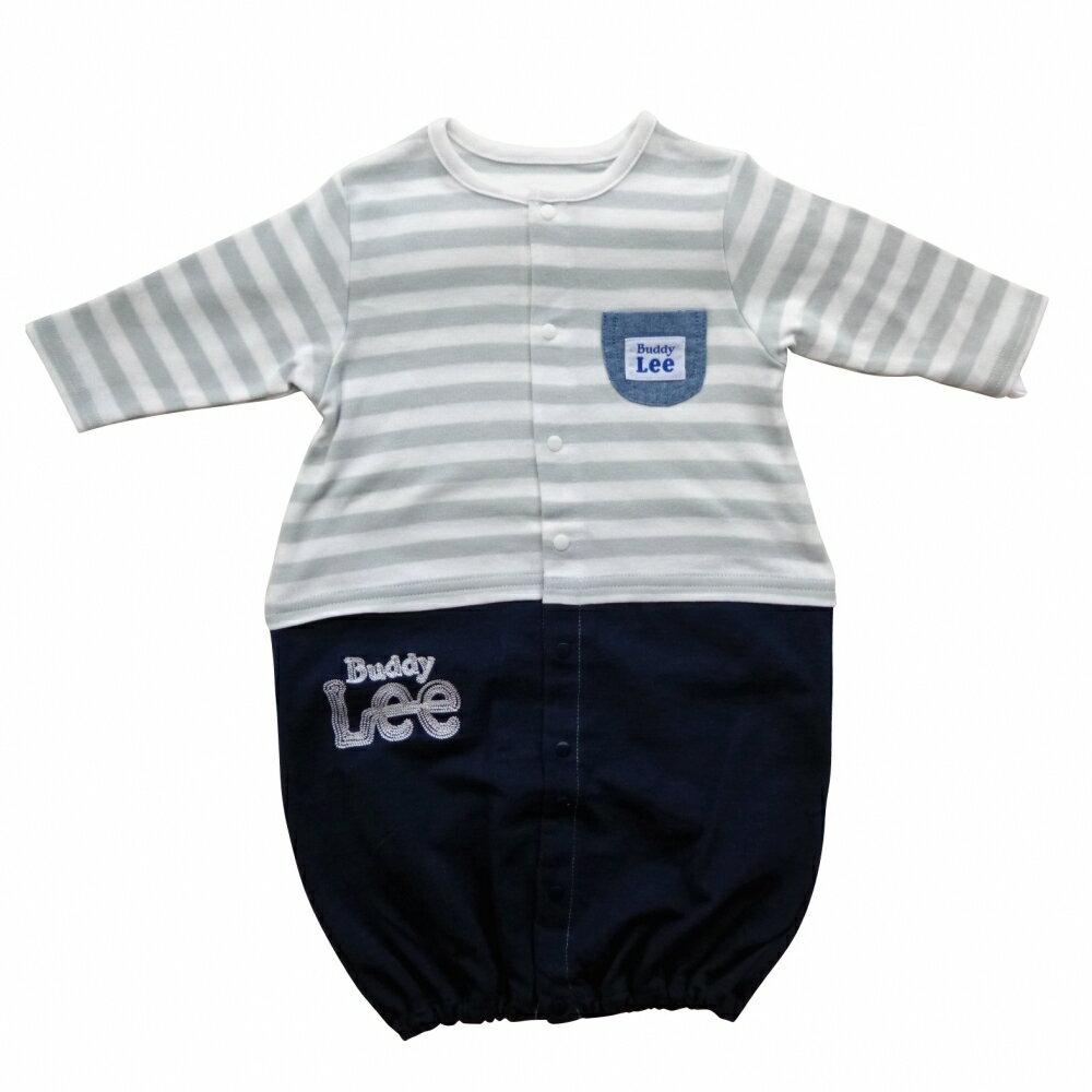 【ベビーザらス限定】Buddy Lee デニムニット切替ドレス 2WAY ドレカバ グレー×50-70cm