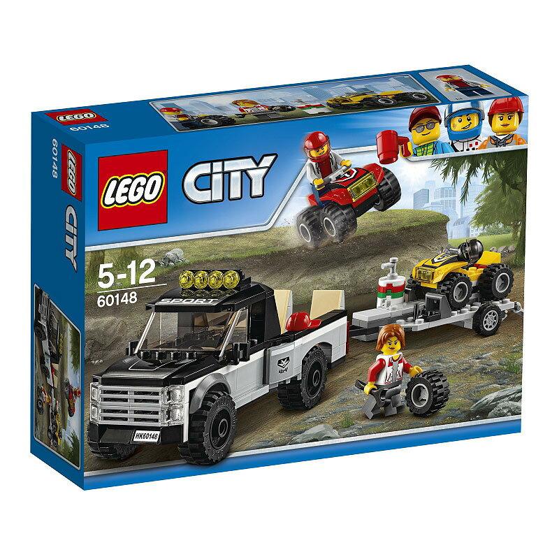レゴ シティ 60148 四輪バギーとトレーラー