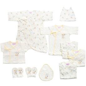 ベビーザらス限定 新生児肌着10点セット スヌーピー(ホワイト×50-60cm)