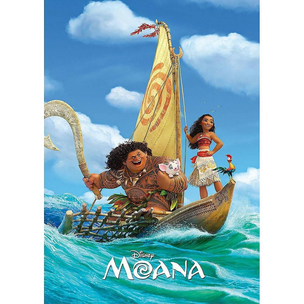 ディズニー 108ピース ジグソーパズル モアナと伝説の海 冒険の旅へ!(18.2×25.7cm)