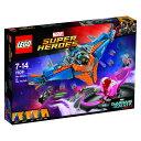 レゴ スーパーヒーローズ 76081 宇宙船ミラノ vs.アビリスク【送料無料】