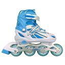 トイザらス限定 インラインスケート トゥインクル ブルーL(21〜23cm)