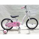 【クリアランス】トイザらス AVIGO 16インチ 子供用自転車 コーラル【送料無料】