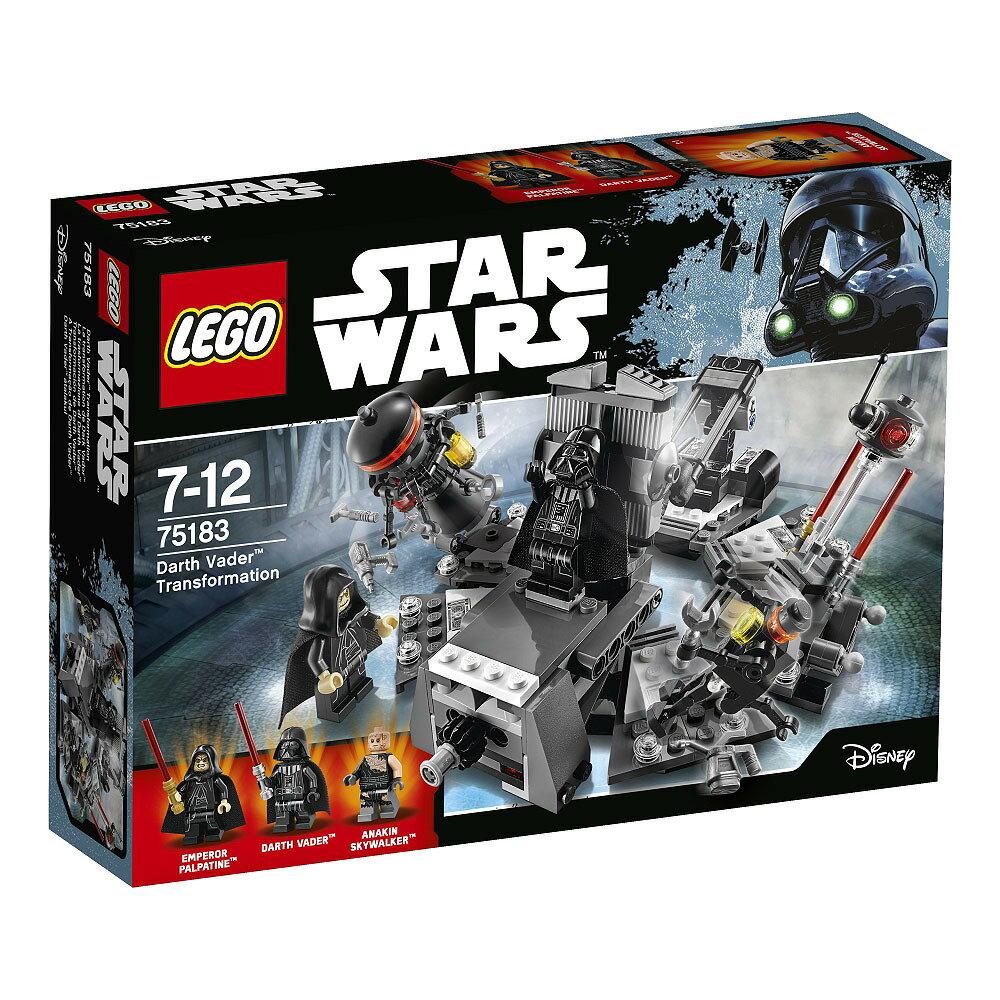 レゴ スターウォーズ 75183 ダース・ベイダーの誕生