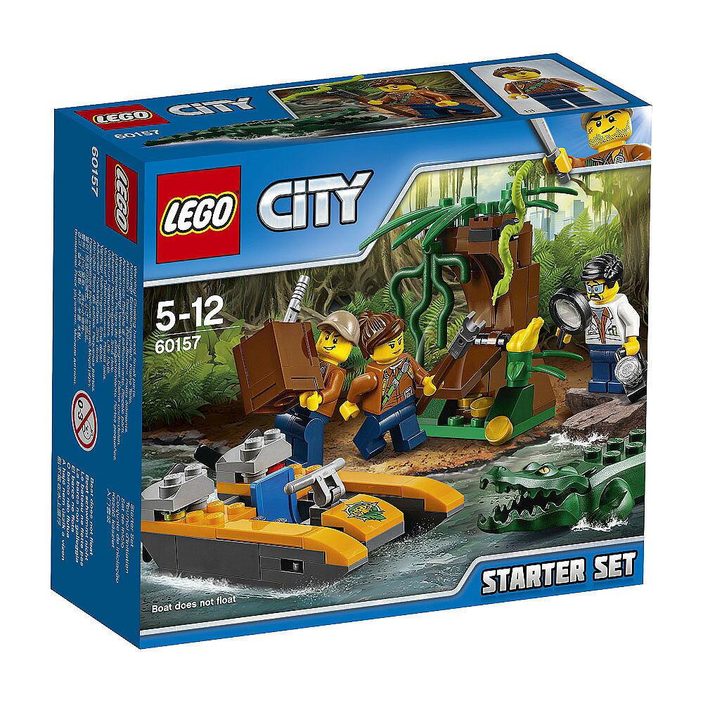 レゴ シティ 60157 ジャングル探検スタートセット