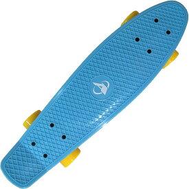 トイザらス AVIGO ピースケートボード ミニ (ライトブルー/イエロー)【クリアランス】
