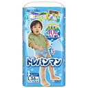 【トレーニングパンツ】トレパンマン 男の子用Lサイズ (9〜14kg) 36枚