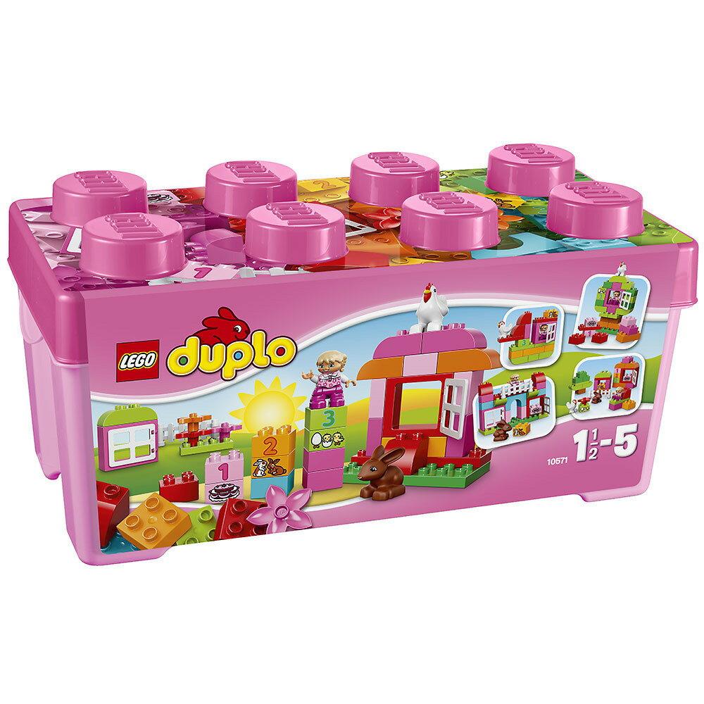 レゴ デュプロ 10571 基本セット・ピンクのコンテナデラックス