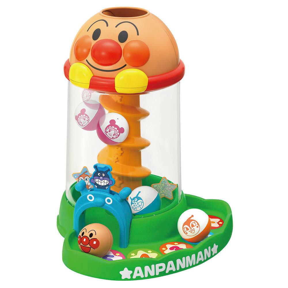 【オンライン限定価格】アンパンマン にぎって!おとして!くるコロタワー