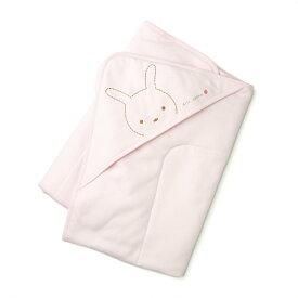 【愛情設計】リバーシブルアフガン☆低刺激素材(ピンク・85×85)オールシーズン用★日本製★