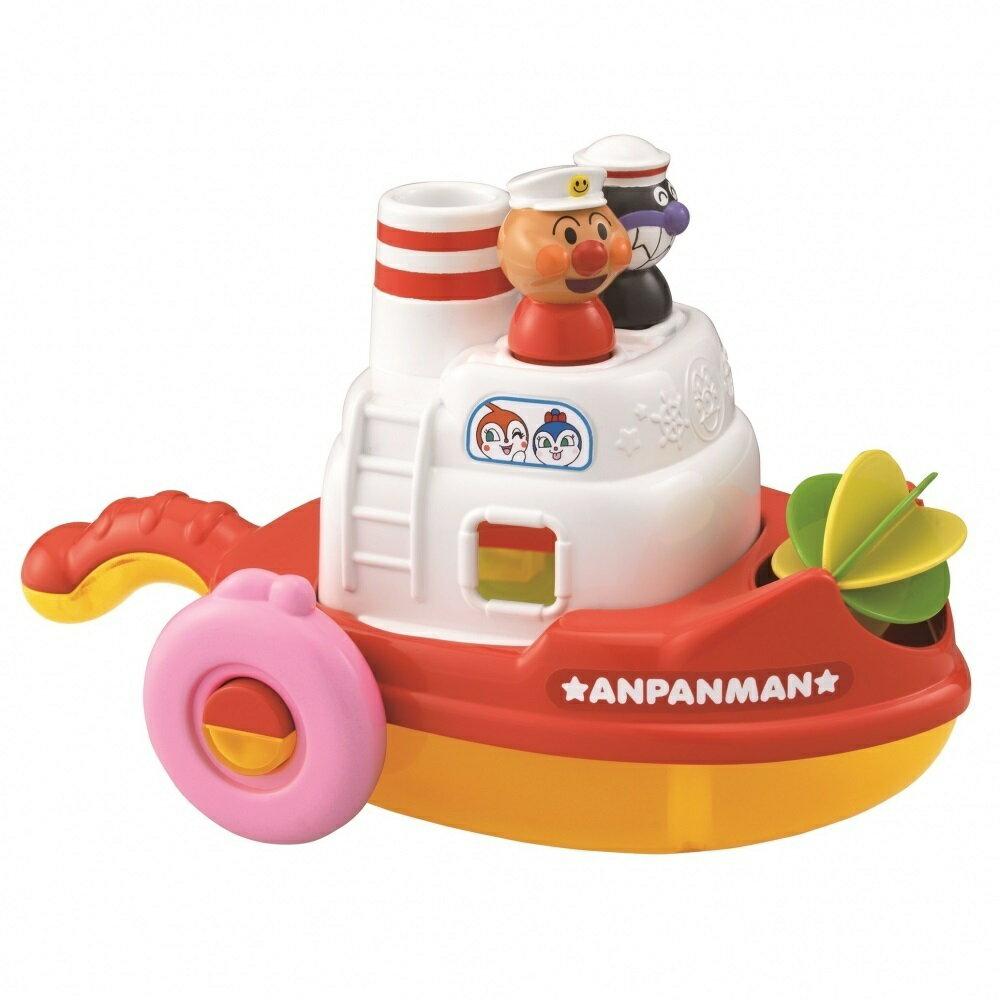 アンパンマン 水車くるくる!おふろでパズルボート