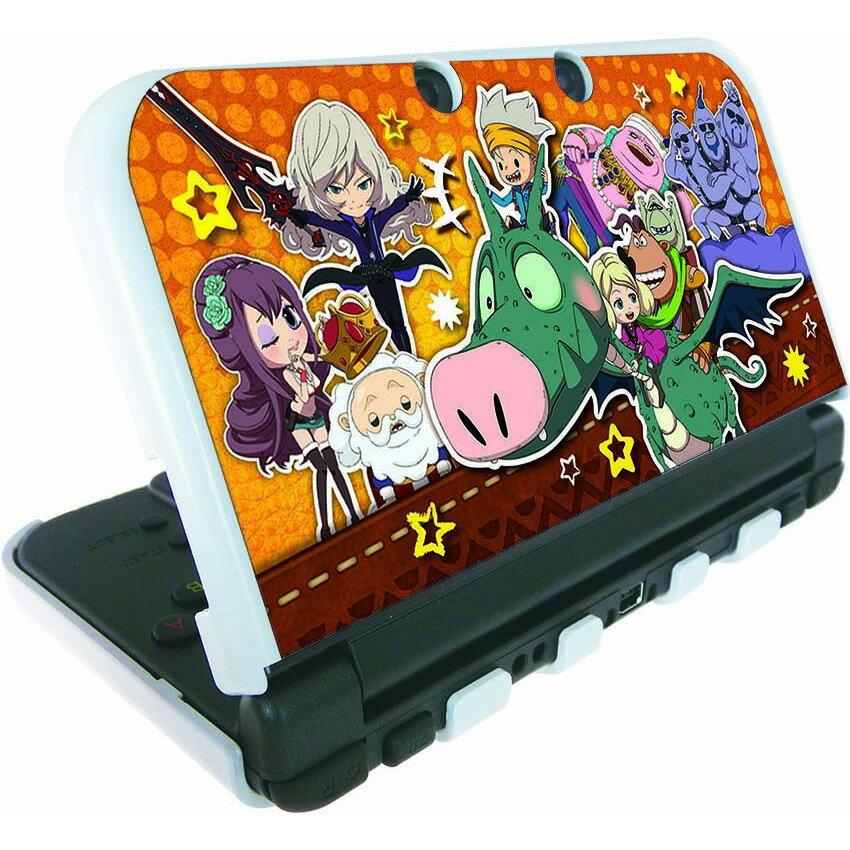 スナックワールド new NINTENDO 3DS LL 専用 カスタムハードカバー 大集合ver.