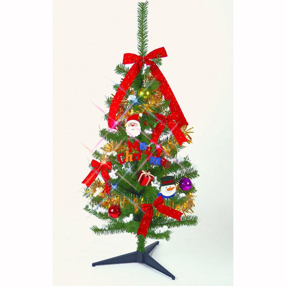 【クリスマスツリー】トイザらス チアー! 100cm 10球ライト付きセットツリー