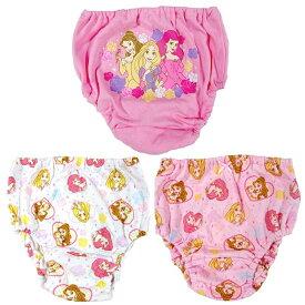 ディズニープリンセス 3Pショーツ パンツ (ピンク×100cm)