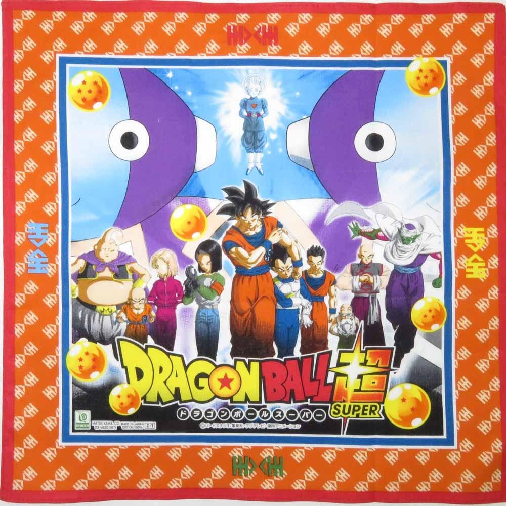ハンカチ ドラゴンボール(橙色)
