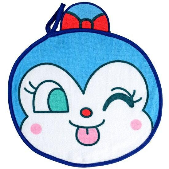 アンパンマンASST顔型ループ付タオル(コキンちゃん)
