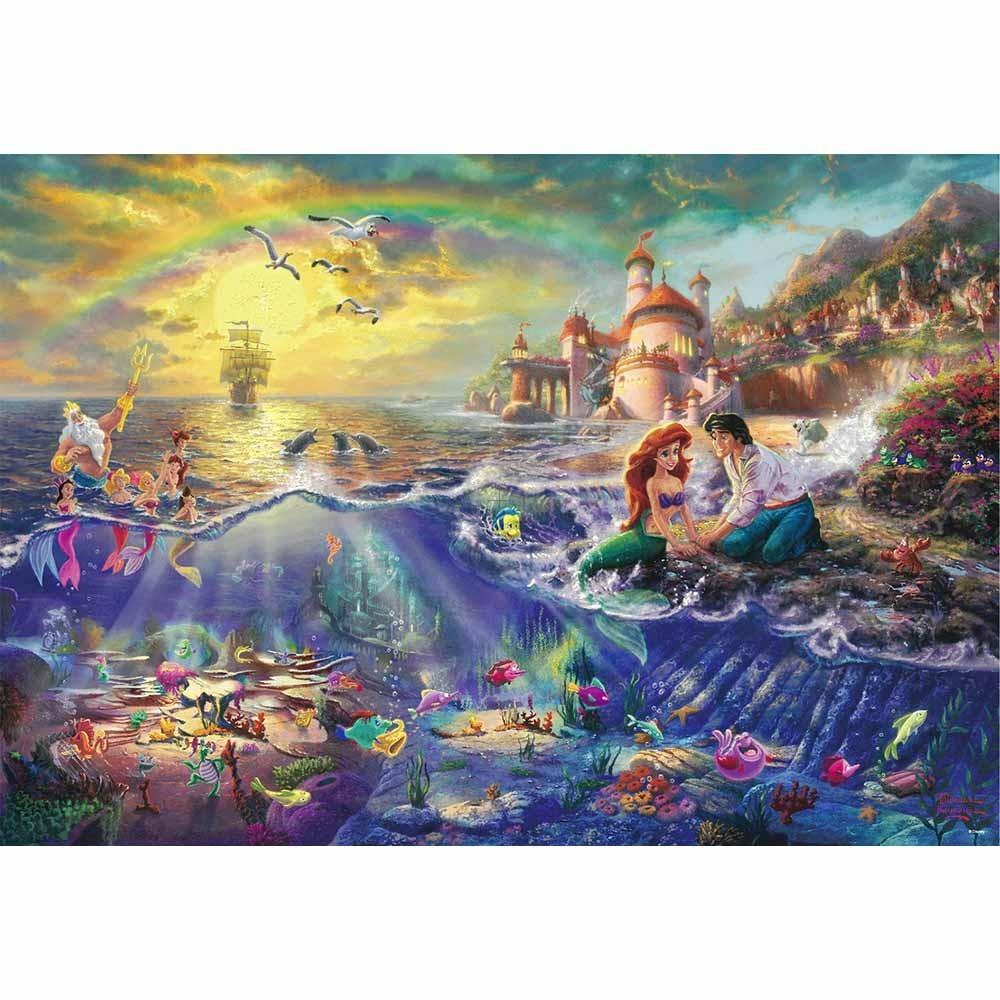 【オンライン限定価格】ディズニー 1000ピース ジグソーパズル The Little Marmaid