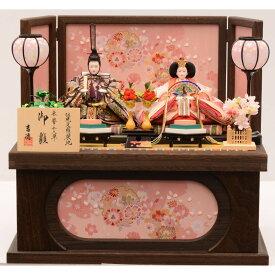 【雛人形】ベビーザらス限定 収納親王飾り 「春歌桜焼桐」【送料無料】