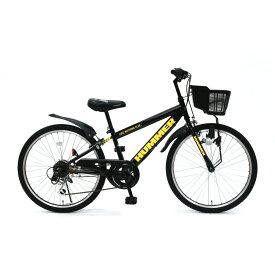 トイザらス限定 24インチ 子供用自転車 ハマー ジュニアCTB246-TZ(ブラック)
