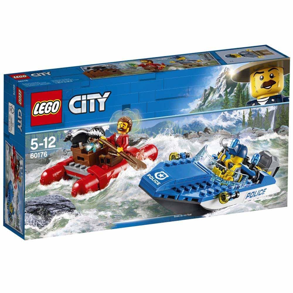 レゴ シティ 60176 激流のボートチェイス