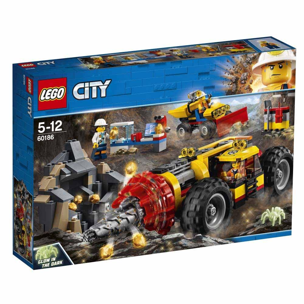 レゴ シティ 60186 ガリガリドリルカー