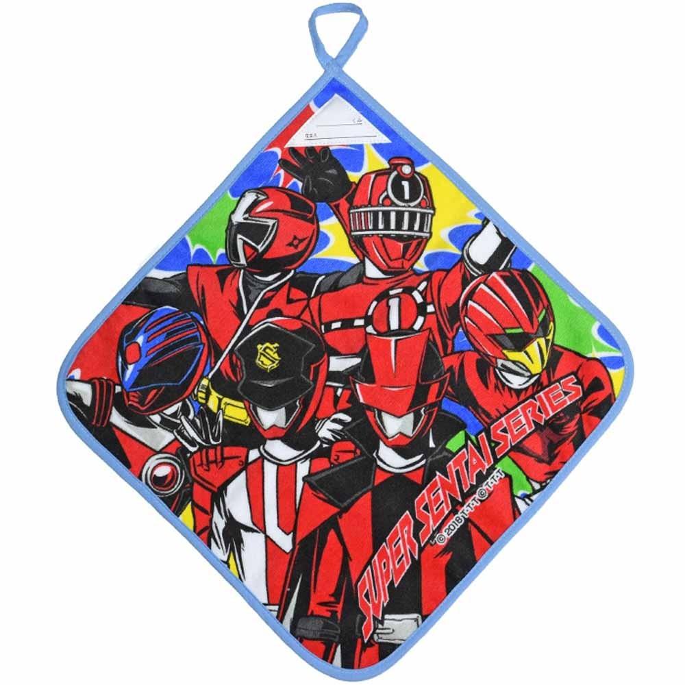 スーパー戦隊シリーズ(ルパンレンジャーと歴代ヒーロー)ループ付ハンドタオル