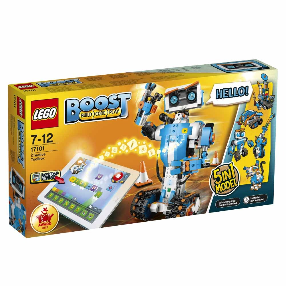 【オンライン限定価格】レゴ ブースト 17101 レゴ(R)ブースト クリエイティブ・ボックス【送料無料】