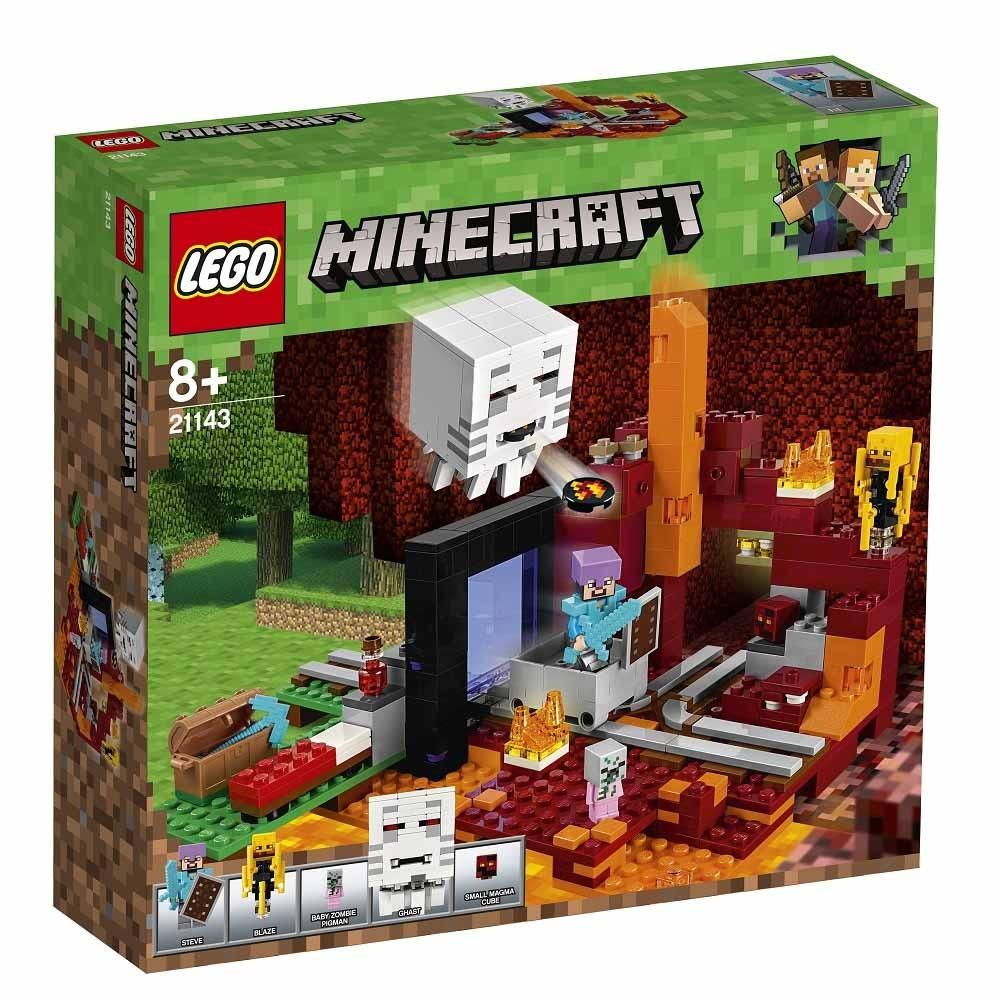 【オンライン限定価格】レゴ マインクラフト 21143 闇のポータル