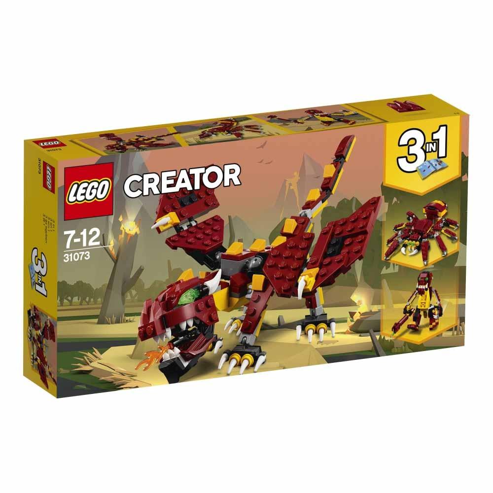 レゴ クリエイター 31073 伝説の生き物