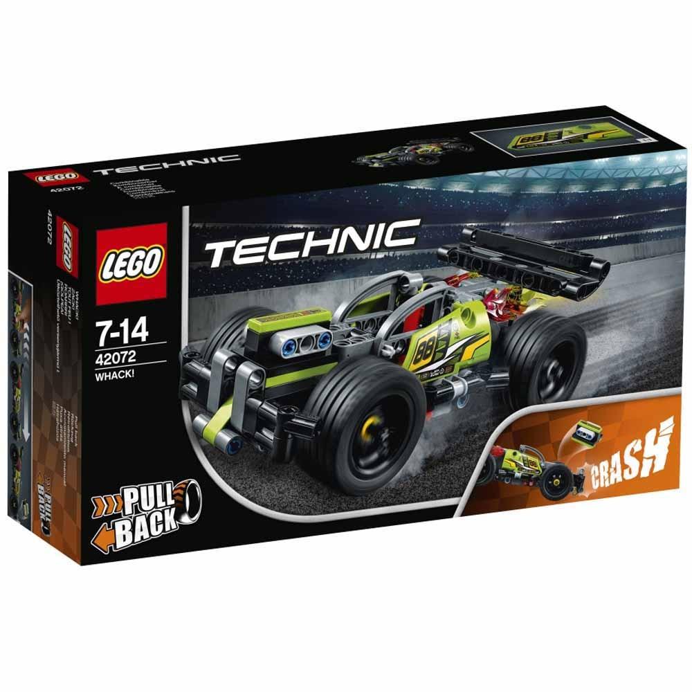 レゴ テクニック 42072 激突レーサー