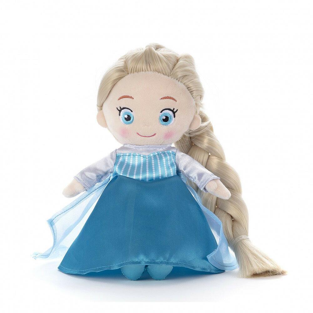 ディズニーキャラクター マイフレンドプリンセス ヘアメイクプラッシュドール アナと雪の女王 エルサ