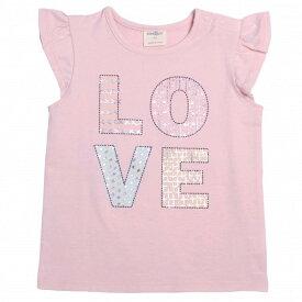 8e1ab48e55145  クリアランス ベビーザらス限定 キッザらス 半袖Tシャツ LOVE(ミディアム
