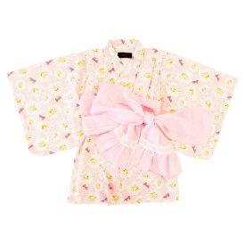 ベビーザらス限定 Barbie バービー 浴衣ワンピース(ピンク×90cm)