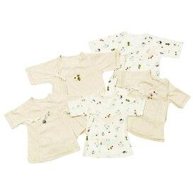 ベビーザらス限定 MOOMIN 新生児肌着5点セット ムーミン ファミリー(ホワイト×50-60cm)