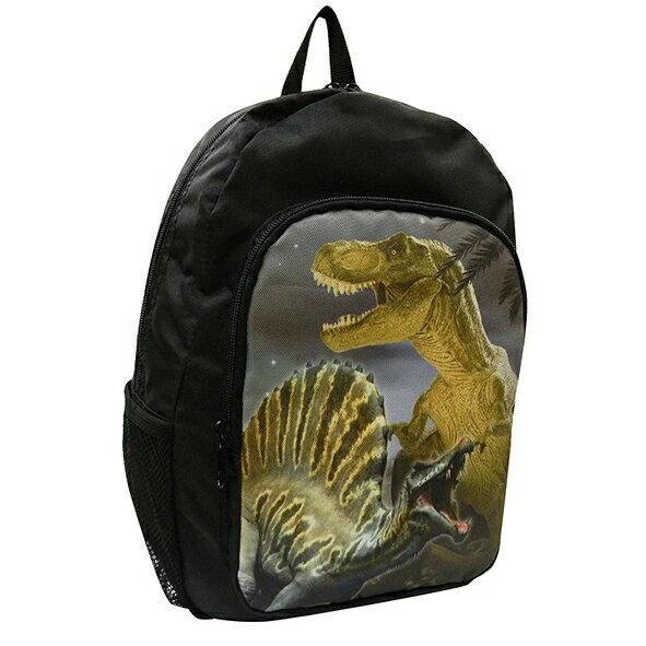 恐竜デイパック ブラック
