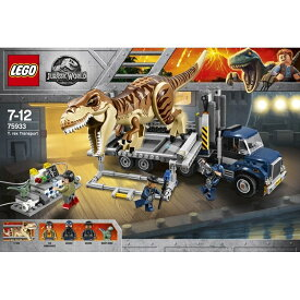 トイザらス限定 レゴ ジュラシック・ワールド 75933 T-レックスの輸送