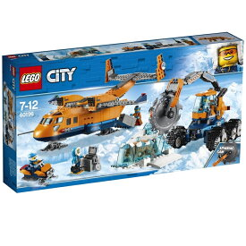 レゴ シティ 60196 北極輸送ヘリコプターと作業車【送料無料】