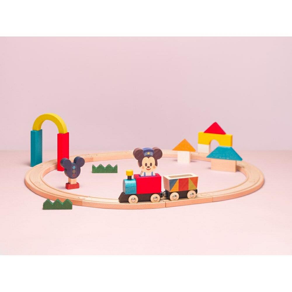 KIDEA(キディア) トレイン&レール ミッキーマウス【送料無料】