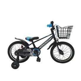 トイザらス限定 16インチ 子供用自転車 RAISE リブレス(ブラック/ブルー)
