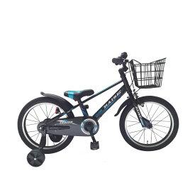 トイザらス限定 18インチ 子供用自転車 RAISE トレイバー(ブラック/ブルー)