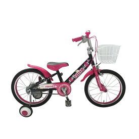 トイザらス限定 18インチ 子供用自転車 RAISE アルバニー(ピンク/ブラック)