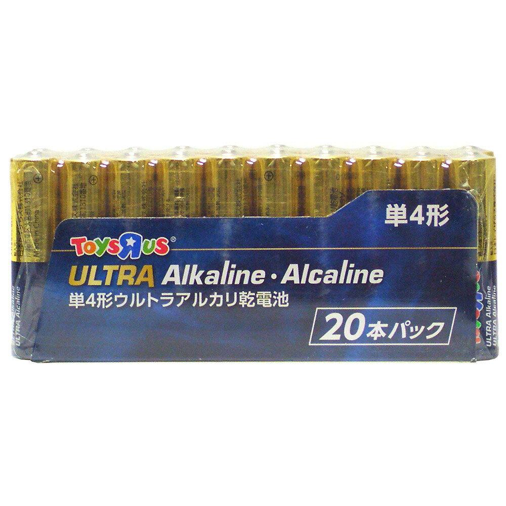 トイザらスオリジナル アルカリ乾電池 単4形 20本パック