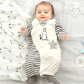 ベビーザらス限定 MOOMIN 新生児兼用ドレス ムーミン(ホワイト×50-70cm)