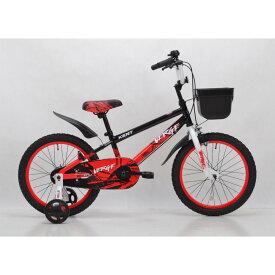 トイザらス限定 18インチ 子供用自転車 KENT ヴァージ(ブラックレッド)