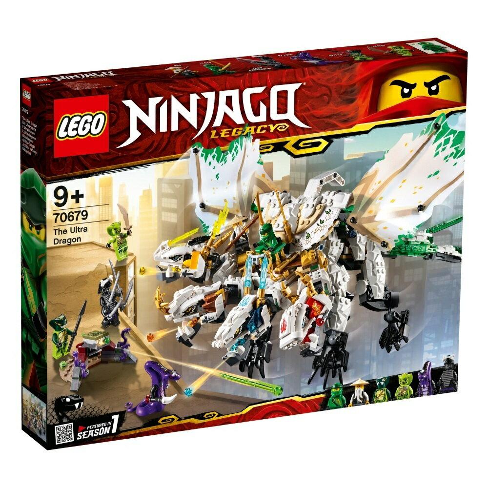 【オンライン限定価格】レゴ ニンジャゴー 70679 究極のウルトラ・ドラゴン:アルティメルス【送料無料】