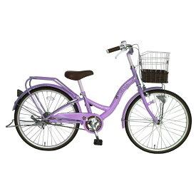 トイザらス限定 24インチ 子供用自転車 ピカケ(パープル)