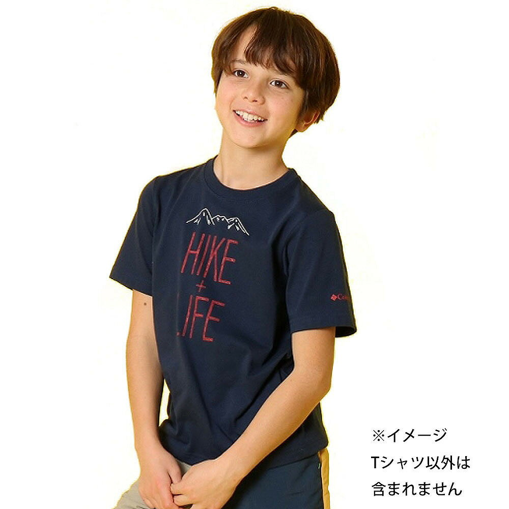 コロンビア チュファンクトゥ ハイク ユース ショートスリーブTシャツ(ネイビー×110cm)